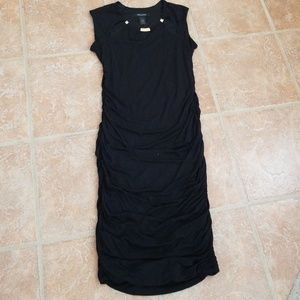 Ashleh Stewart black dress